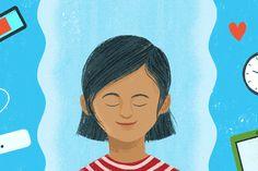 הצעות לתרגול מיינדפולנס על ילדים Children of all ages can benefit from mindfulness. It can help parents and caregivers, too. Here are tips for children and adults of all ages for how to be more present. Mindfulness For Kids, Mindfulness Practice, Teaching Mindfulness, Parenting Books, Kids And Parenting, Mindful Activities For Kids, Preschool Yoga, Mindfulness Techniques, Anxiety In Children