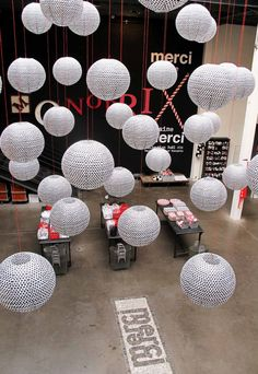 Merci Paris - Decoration by Paola Navone   November 2012  http://www.facebook.com/photo.php?fbid=499235143430392=a.499231960097377.115681.486707708016469=3