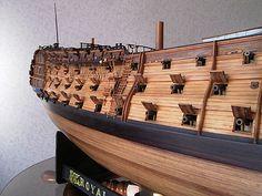 ロイヤル・ジョージ(Royal Georgr) 帆船模型 製作過程(5) Scale Model Ships, Scale Models, Model Ship Building, Hms Victory, Pirate Ships, Tall Ships, Sailboats, Sailing Ships, Pirates