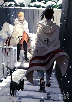 Sasuke e Naruto - Anime Naruto Naruto Shippuden Sasuke, Naruto Kakashi, Anime Naruto, Sasunaru, Naruto Sasuke Sakura, Narusasu, Naruhina, Konoha Naruto, Sasuke Sarutobi