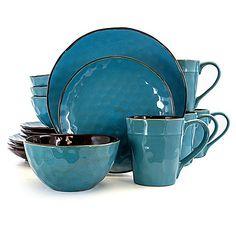 Stoneware Dinnerware Sets, Blue Dinnerware, Casual Dinnerware, Tableware, Dinnerware Ideas, Serveware, Lush, Gadgets, Blue Texture