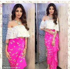 Masaba # Shilpa Shetty # draped love #
