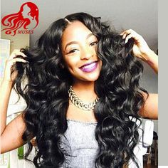 ********** Stock - Bazilian Virgin Hair Lace Front Human Hair Wigs Body Wave Natural Black Glueless Full Lace Human Hair Wigs For Afric