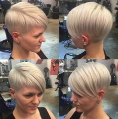 New short hairstyles for smooth hair type - Hairstyle 2019 New Short Hairstyles, Mom Hairstyles, Straight Hairstyles, Short Blonde Haircuts, Short Straight Hair, Short Hair Cuts, Short Hair Styles, Pelo Natural, Smooth Hair