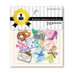 MWFavorite Seal 73671 girly stamp http://www.mindwave-store.com/item/1148/