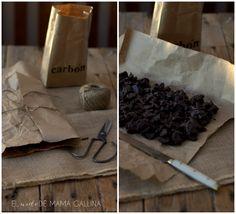 carbón de chocoalte
