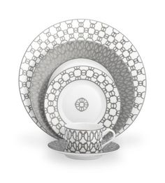 Hermes - Silver Thread Place Setting