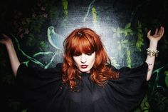 Florence + the Machine + the hair + the cape