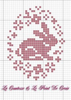 New crochet free pattern easter cross stitch ideas Cross Stitch Freebies, Cross Stitch Cards, Cross Stitch Animals, Counted Cross Stitch Patterns, Cross Stitch Designs, Cross Stitching, Cross Stitch Embroidery, Embroidery Patterns, Hand Embroidery