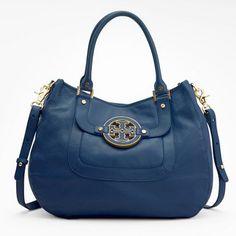 Dark Blue Tory Burch Handbag