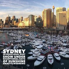 #sydneyboatshow having 63000 visitors closes under exceptional rays of sunshine http://en.nauticwebnews.com/6834/