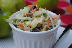 BBQ Party Ideas for Kids-Kid Friendly Coleslaw