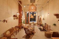 큐플레이스 :: 상가 인테리어 비교견적 서비스 Cafe Shop Design, Coffee Shop Interior Design, Interior Styling, Cafe Counter, Cafe House, Restaurant Design, Architecture, Chai, Rattan
