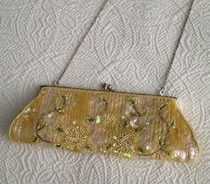 Vintage 80s Evening Bag with Sequins and Beads by BarbeeVintage, $22.00