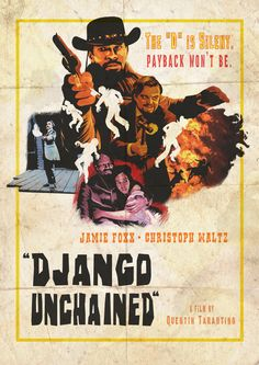 Django unchained alternative poster Art Print by Leigh Lahav - X-Small Best Movie Posters, Cinema Posters, Film Posters, Cinema Cinema, Youre My Favorite Person, Cowboy Films, Badass Movie, Really Good Movies, Django Unchained