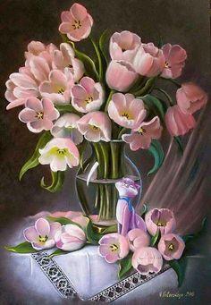 Tulipánok vázában