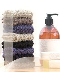 Free knitting patterns (washcloths, scarfs, cowls, bookmarks)