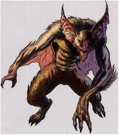 Furry Werewolf Girl   185. Werebats