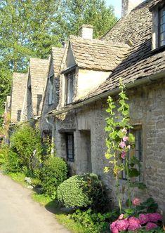 Arlington Row, Bibury, Cotswolds, Gloucestershire, England by Martin Humphreys