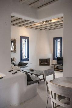 Mykonos  villa  rental  - 2 Bedroom Villa - Sitting area