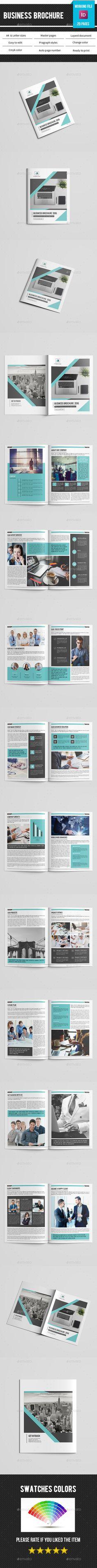 Business Brochure Template-V404 - Corporate Brochures