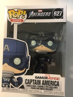 Gamerverse Captain America Pop by Funko is looking for a good family to join. Marvel Avengers Games, Funko Pop Marvel, Small Business Start Up, Pop Vinyl Figures, Toys Online, Display Boxes, Toy Store, Captain America, Action Figures