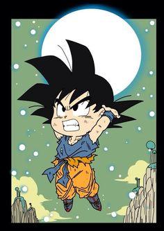 Chibi Goku!