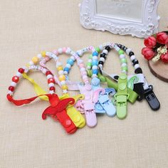 >> Click to Buy << Toddler Baby Mustache Dummy Pacifier Clip Chain Holder Soother Nipple Strap -B116 #Affiliate