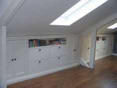 If you are lucky enough to have an attic in your home but haven't used this space for anything more than storage, then it's time to reconsider its use. An attic Attic Bedrooms, Upstairs Bedroom, Attic Bathroom, Eaves Storage, Loft Storage, Storage Ideas, Attic Renovation, Attic Remodel, Loft Room