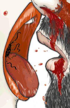 Strange art from the Tool website