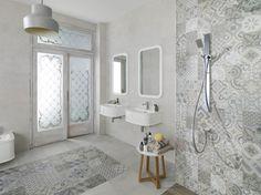 mosaico hidraulico baños - Buscar con Google