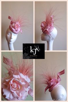Custom paradisal headpiece #kjmillinery #hat #fascinator #headpiece