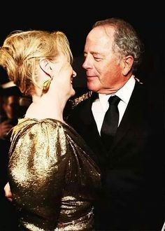 Meryl Streep, Don Gummer at the Oscar Show 2012