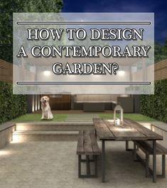 Learn The Basics of Garden Design Garden Design, House Design, Contemporary Garden, Blog Images, Design Tutorials, Garden Inspiration, Architecture Design, Building, Architecture Layout