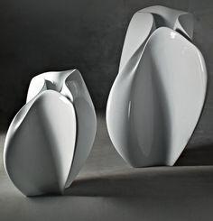 FLOW pot, 2007   Zaha Hadid for Serralunga