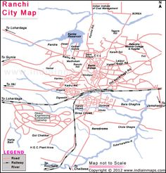 Ranchi City Map