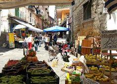 Lebensmittel Märkte Neapel