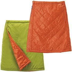 Insulated skirt for the snowboarding gal.