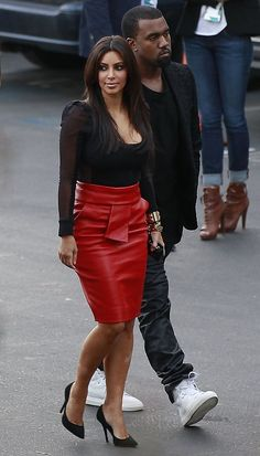 Kim Kardashian Fitted Blouse