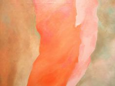 Georgia O'Keeffe 'It Was Red and Pink', 1959, Milwaukee Museum of Art…