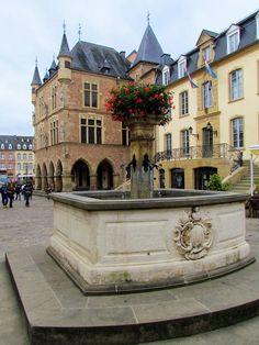 Echternach, Luxemburgo / Echternach es una comuna con estatus de ciudad en el Cantón de Echternach, que es parte del distrito Grevenmacher, localizado al este de Luxemburgo