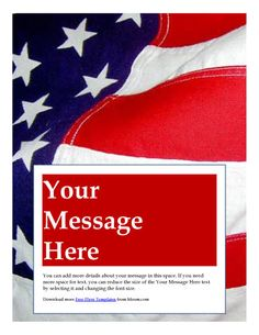 america brochure template - modern flyer for sale by owner free flyer templates