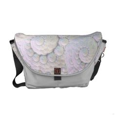 http://www.zazzle.com/pearly_shells_rickshaw_messenger_bag-210037494574492146?gl=Rosemariesw=238739306683447883   Pearly shells Rickshaw Messenger Bag by Rosemariesw