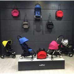 BABYZEN strollers wall, YOYO & ZEN, what else? #BABYZENYOYO #BABYZENZEN