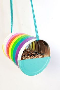 How To Make a Recycled Can Bird Feeder (Plus, 20 Recycled DIY Projects)