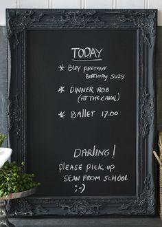 €99,95 French Blackboard M #living #interior #rivieramaison