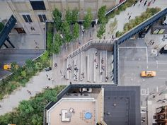 High Line Top View