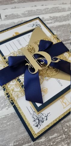 Beauty & The Beast Wedding Place Cards image 3 Beauty And The Beast Wedding Invitations, Beauty And The Beast Wedding Theme, Royal Wedding Invitation, Wedding Stationary, Wedding Beauty, Wedding Invitations Royal Blue, Beautiful Wedding Invitations, Wedding Places, Wedding Place Cards
