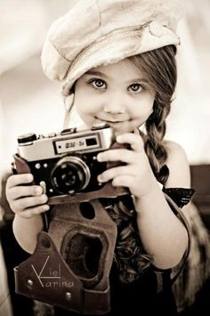 Mini-fotógrafa