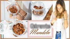 Gebrannte Mandeln selber machen ohne Zucker - gesunder Snack - BodyFood